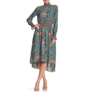Nanette Lepore Floral Dress Victorian Inspired 10
